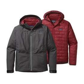 Patagonia 3 in 1 River Salt Jacket forge grey