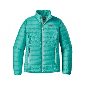 Patagonia Women's Down Sweater, strait blue