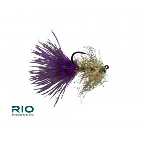 RIO Gold Jigger Purple/Olive #10 (6 pcs)