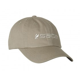 SAGE Soft Crown Hat, khaki twill