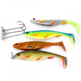STROFT Predator P-18 Soft Lure-Set (4 pcs)
