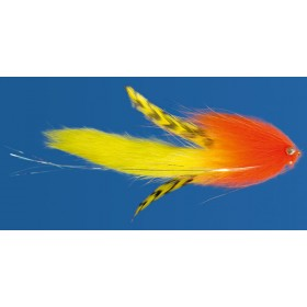Super Pike Bunny, yellow / orange