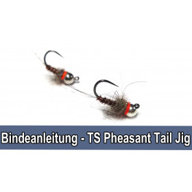 Tungsten Pheasant Tail Jig Nymph Fly Tying Set