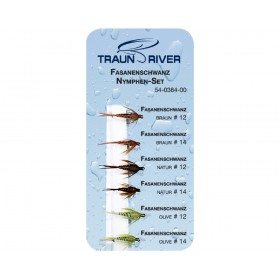 TRAUN RIVER Pheasant Tail Nymph Set