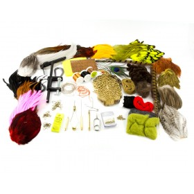 TRAUN RIVER Fly Tying Starter Pack Standard