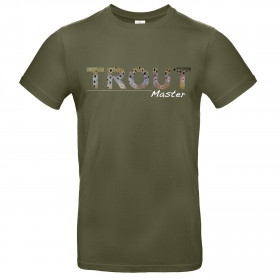 TRAUN RIVER T-Shirt Trout Master, olive
