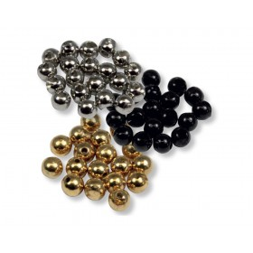 Tungsten Beads 100 Pack Mixed