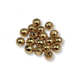 Tungsten Beads, gold