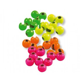 Tungsten beads fluorescent