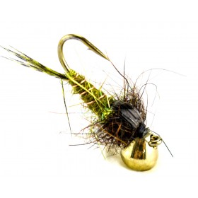 Tungsten Trout Trap olive