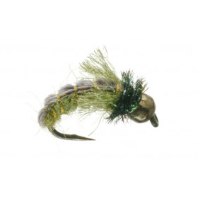 Tungsten Z-Wing Caddis, olive