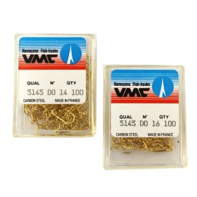 VMC 5145 Jig Hook, gold