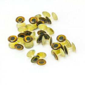 Weightless Dumbbell Eyes 10 mm 7 pcs