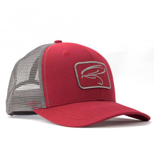 TRAUN RIVER Trucker Hat noble red