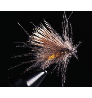 CDC Buck Caddis, gelb
