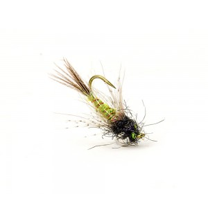 Drop Nymph, olive/black