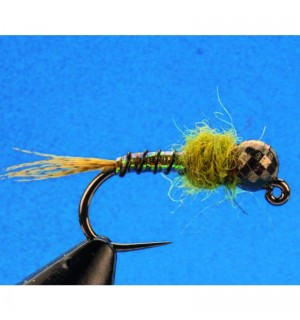 Euro Jig Nymph, olive