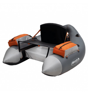 Outcast Fish Cat 4 Deluxe LCS Belly Boat, gray