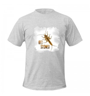TRAUN RIVER T-Shirt Stonefly, heather grey