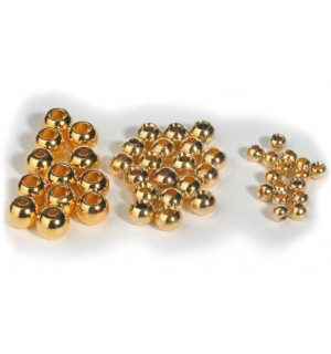 Gold Bead Heads 100-Pack