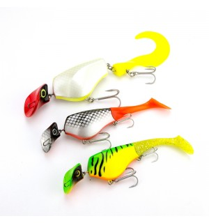3-pack Hecht lures