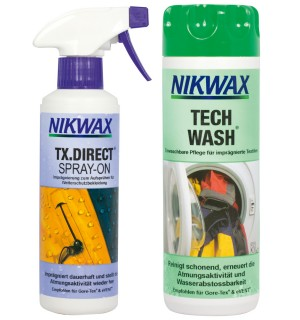 2er Pack Nikwax TX.Direct Spray-On & Tech Wash