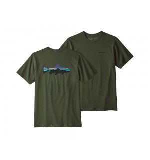 Patagonia Fitz Roy Trout Responsibili-Tee, nomad green