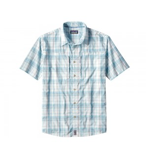 Patagonia Sun Stretch Shirt (short sleeve), pel. bend blue