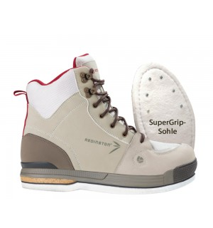 "Redington Damen Wading Boot Siren ""SuperGrip"" inkl. Tungsten Carbite Spikes"