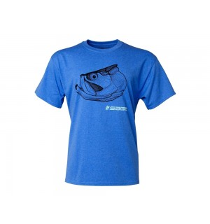 SAGE Tarpon Head Tee, heather blue