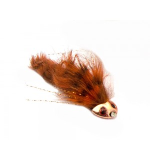 Sculpin Flex Streamer, rusty brown #4