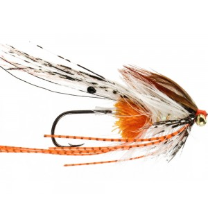 Stu's Prawn Truder, orange/white