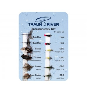 TRAUN RIVER Dry Fly Set