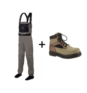 TRAUN RIVER Wading Outfit Silver (Tremont)