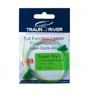 TRAUN RIVER Super Dry Fly 275 cm Leader