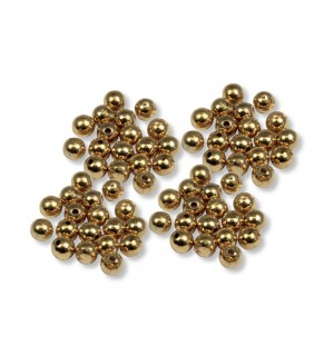 Tungsten beads gold 100er-Pack