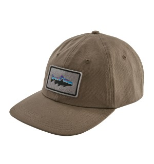 Patagonia Fitz Roy Trout Patch Hat, burny brown