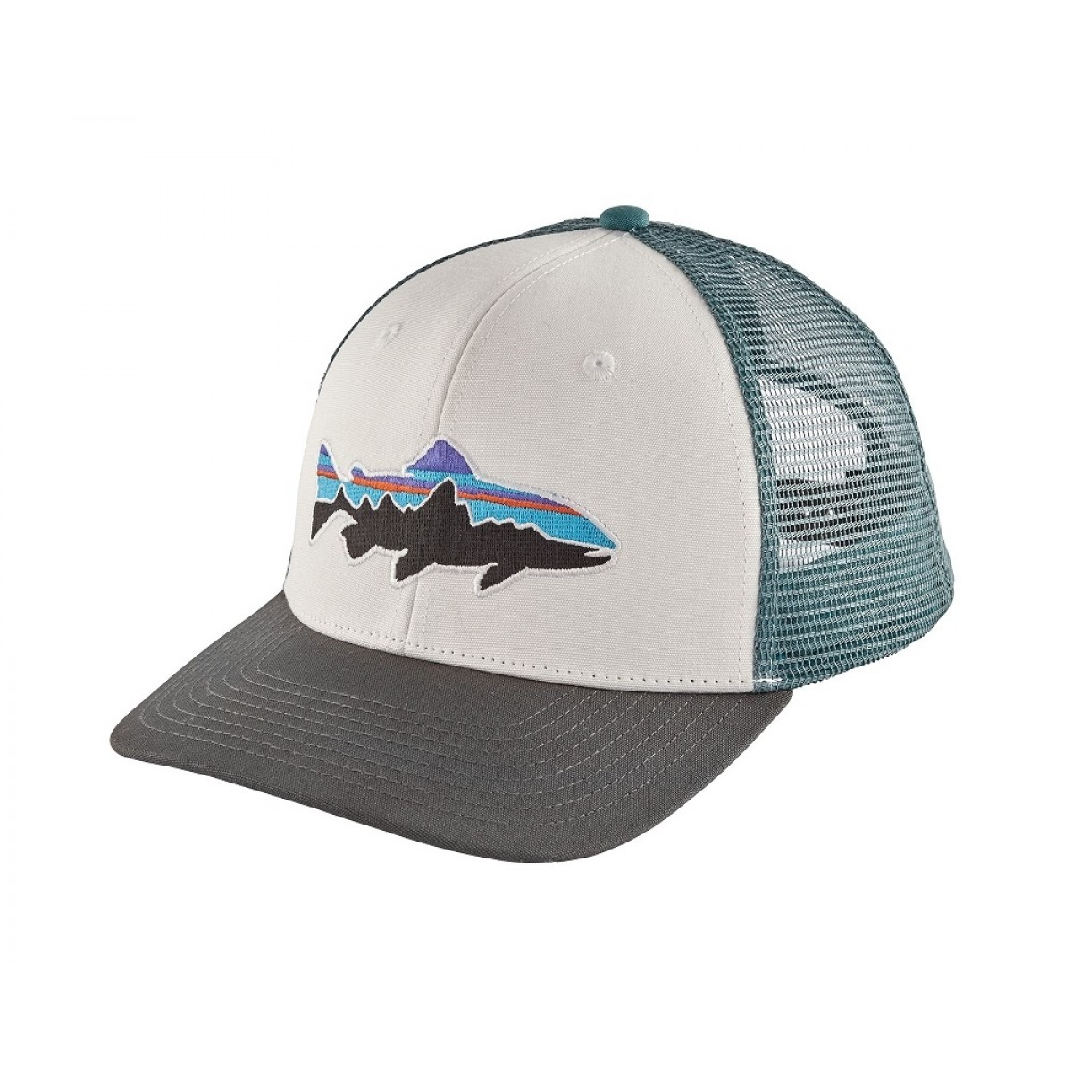 0a921aaf438 Patagonia Fitz Roy Trout Trucker Hat