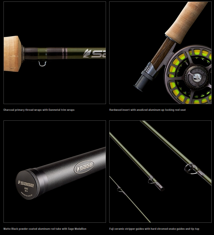 Sonic Fly Rods Details