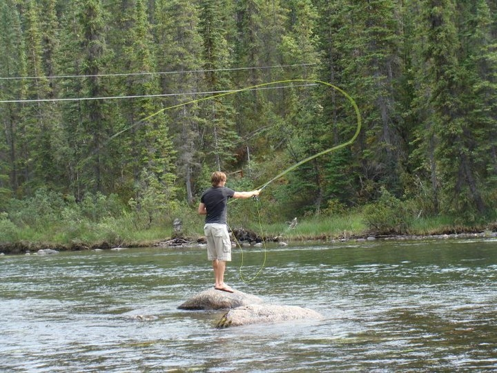 Fly fishing yukon